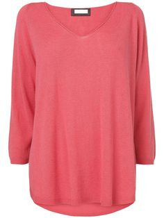 NEW Ladies Phase Eight Vivian V Neck Jumper Mulberry Pink 8 10 12 14 16 18