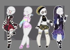 DeviantArt: More Like Gacha outfits 16 by kawaii-antagonist