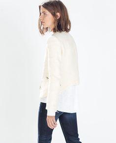 Frisur via Zara