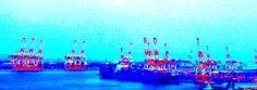「ガントリークレーン 夕暮れ」の画像検索結果