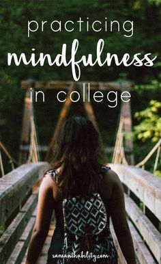 Tips for staying mindful in college brought to you by /spireio/! Stress and college go hand in hand, keep it in check with these mindfulness ideas!