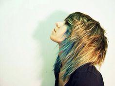 Layered punk rock hair ✌️