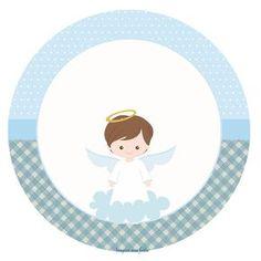 Batizado Menino – Kit festa grátis para imprimir – Inspire sua Festa ® Christening Invitations Boy, Baptism Banner, Baptism Candle, Baby Boy Baptism, Baby Christening, Baptism Cookies, Baptism Favors, Dyi Decorations, Baby Tumblr