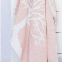 Luna Ninos Wool Tree Blanket – Pink