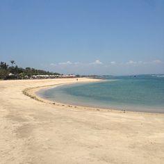Kayumanis Nusa Dua private beach photo courtesy @johannessenjo