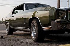 1970 Monte Carlo - My first Car - God I loved that thing......I want a another one!