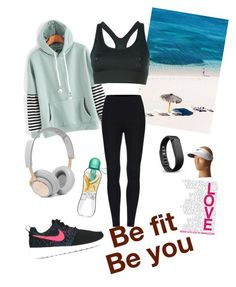 """""""fit girl"""" by cotutiu-crina on Polyvore featuring NIKE, B&O Play, Fitbit and Nike Golf"""
