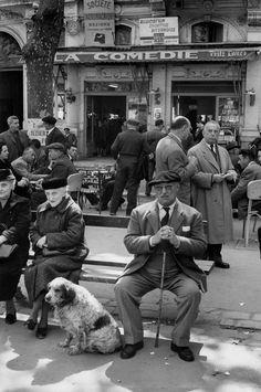 Henri Cartier-Bresson 1960 France. Herault. Beziers