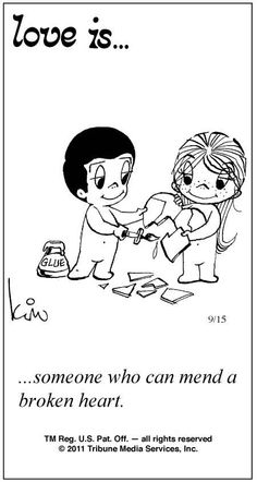 Love Is Comics | Love Is ... Comic Strip by Kim Casali (September 15, 2011)