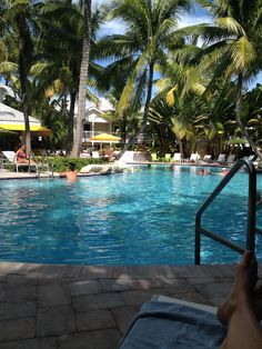 Pool at the Inn in Key West so beautiful!