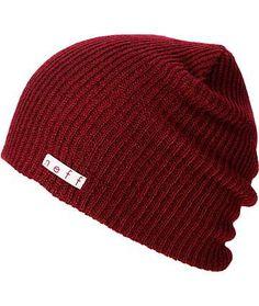 8e952270b37 Neff Daily Maroon Beanie Beanie Hats