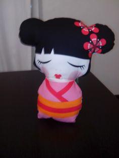 Infantil:cojin japonesa