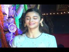 Alia Bhatt at Durga Pooja celebration 2016.