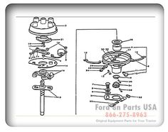ford 8n brake diagram ford 8n 04a02 rear axle shaft and. Black Bedroom Furniture Sets. Home Design Ideas