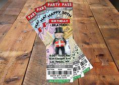 Monopoly Invitation