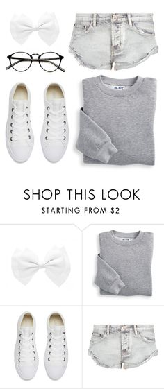 """""""Around the House"""" by cb-hula ❤ liked on Polyvore featuring Blair, Converse and OneTeaspoon"""