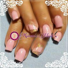 #nails #uñasbellas #uñasacrilicas #acrilycnails #uñas #diseño #kimerasnails #glitter #color #pink #pinkis #rosa #fresas #lineas #rosa #love #tornasol #vintage #fashionnails #fashion #naturalnails #naturales #uñashermosas