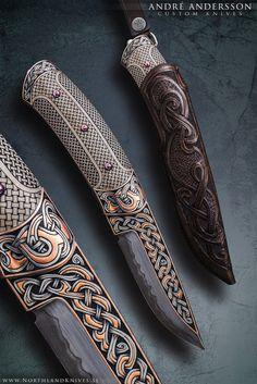 Nordic Dream   Andru00e9 Andersson Custom Knives - www.AndreAndersson.com