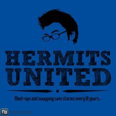 Hermits United tee