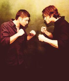 Jensen v Jared • #J2 #JensenAckles #JaredPadalecki