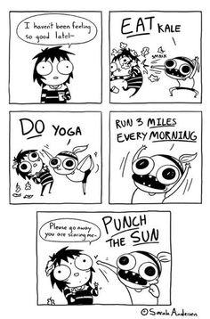 Sarah's Scribbles #funny #comic