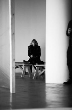 Anna Wintour All Alone