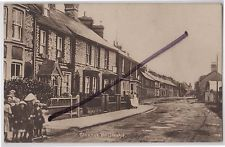 Thame, Oxfordshire: Social History: Printed Postcard View of Chinnor Road