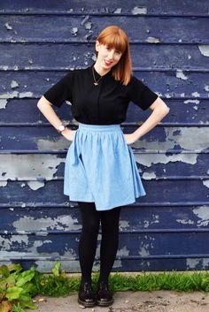 A cheeky little Brumby skirt | The Gingerthread Girl