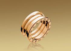 B.ZERO1 3-band ring in 18K pink gold ($1,950)