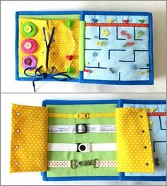Quiet Book Personalized Felt Book Activity Busy Book 21x21 cm