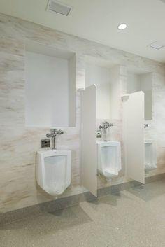 Public Rest Rooms | Corian