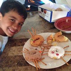 Spider donuts creep into a #pinterestfail