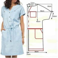 Tunic Sewing Patterns, Girl Dress Patterns, Dress Making Patterns, Blouse Patterns, Clothing Patterns, Skirt Patterns, Coat Patterns, Sewing Clothes, Diy Clothes