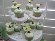 Margarita Cupcakes, Margarita Cakes and of course Margaritas My friend sells jewelry, and I decided to help her out and host a Girls Nig...