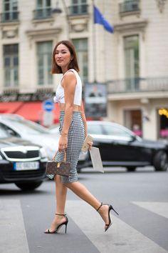 Moda en las calles de Paris