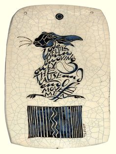 """""""Love itself is unmoving only the cause and end of movement."""" T.S.Eliot - Poetry Tiles - Panels"""