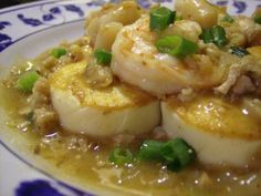 Egg Tofu Scallopini by MeltingWok - HalfHourMeals.com