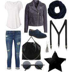 """Eastland Bucksport Buck Oxford in Polyvore Set """"navy the shi out of it"""" by anaiswebber"""