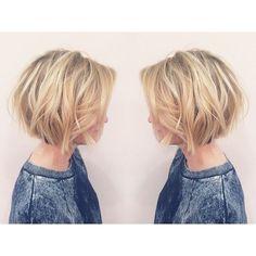 Layered, Short Bob Haircut - Balayage Short Hairstyles for Women