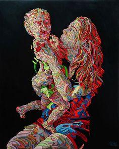 La Vierge et l´Enfant (A Virgem e o Menino), por Shaka