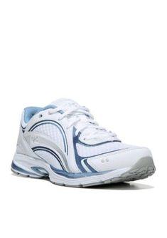 Ryka White MetallicLake Silver Sky Walk Walking Shoe