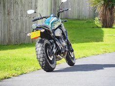XSR700 Evotech tail tidy