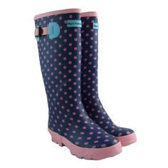 Ladies Wellington Boots Printed Wellies