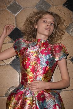 Balenciaga, Purple Magazine S/S 2008 Fashion 2008, Clemence Poesy, Balenciaga Spring, Nicolas Ghesquiere, Sari, Magazine, Purple, Blouse, Inspiration