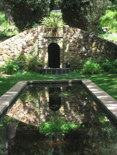 Grotto in Blake Garden in Kensington
