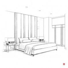 Interior Design For Bathroom Info: 8213034053 Interior Architecture Drawing, Interior Design Renderings, Drawing Interior, Interior Rendering, Interior Sketch, Architecture Design, Perspective Room, Perspective Sketch, Perspective Architecture