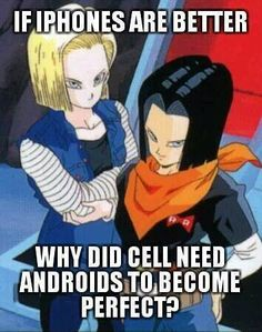 android 17 quotes