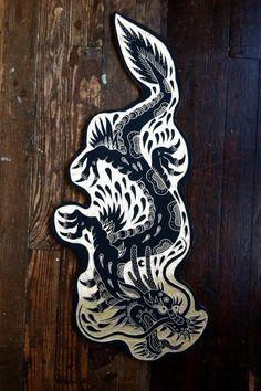 Japanese Dragon Tattoos Old School Body Suit Tattoos - Japanese dragon tattoos old school ; japanische drachentattoos d - Cover Up Tattoos, Tattoo Drawings, Flash Art Tattoos, Traditional Tattoo Art, Dragon Sleeve Tattoos, Japanese Dragon Tattoos, Desenho Tattoo, Wow Art, Tampons