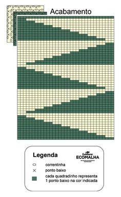 Crochet Carpet, Crochet Home, Crochet Granny, Filet Crochet, Crochet Doilies, Tapestry Crochet Patterns, Crochet Blocks, Cross Stitch Art, Passementerie