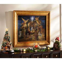 Nativity Framed Art Print | Kirklands